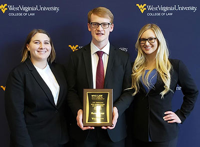 UND Law Team - West Virginia Competition