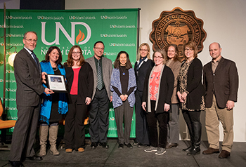 UND Law Excellence in Service Award